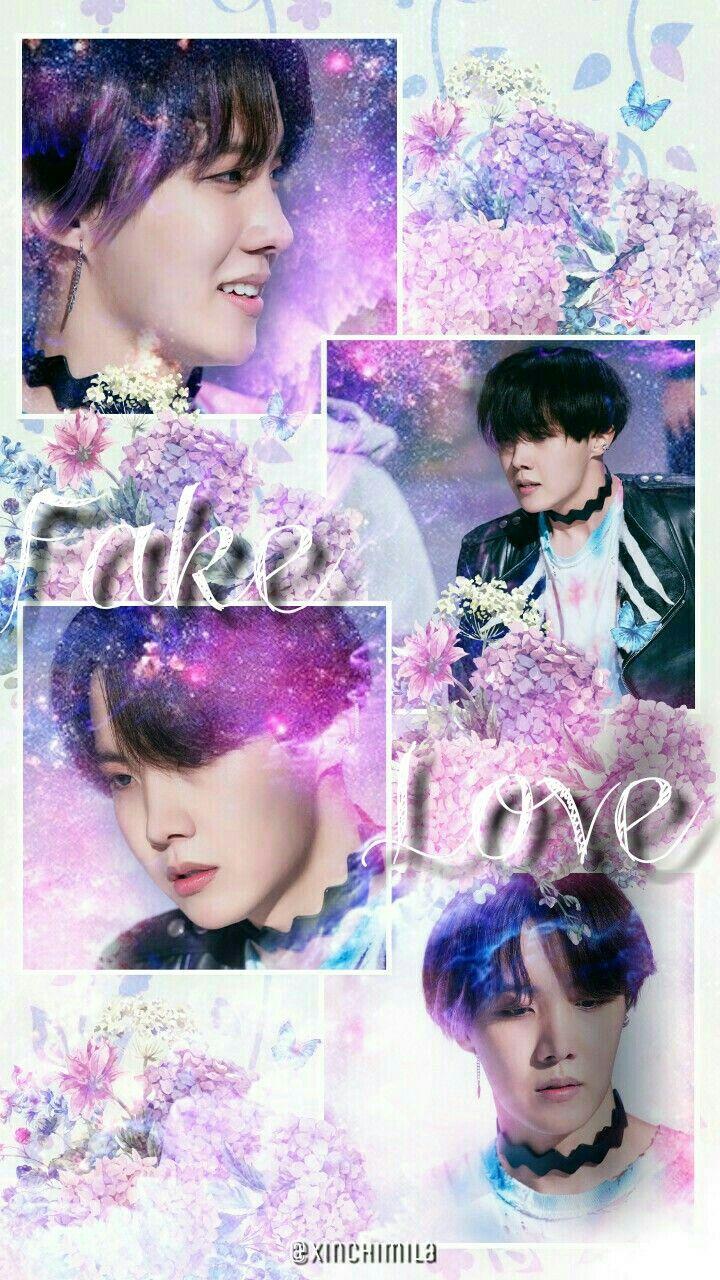 Bts Wallpaper Lock Screen Jung Hoseok J Hope Fake Love Bts