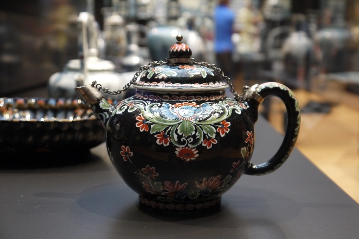 Rijks museum amsterdam - antique dutch teapot