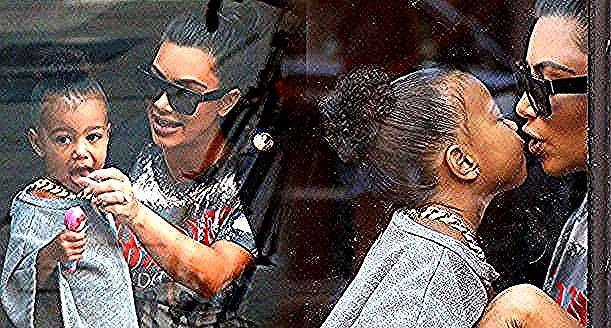 نورث ويست تقلد والدتها كيم كارداشيان في عيد الحب صور In 2020 Mens Sunglasses Round Sunglass Men Round Sunglasses