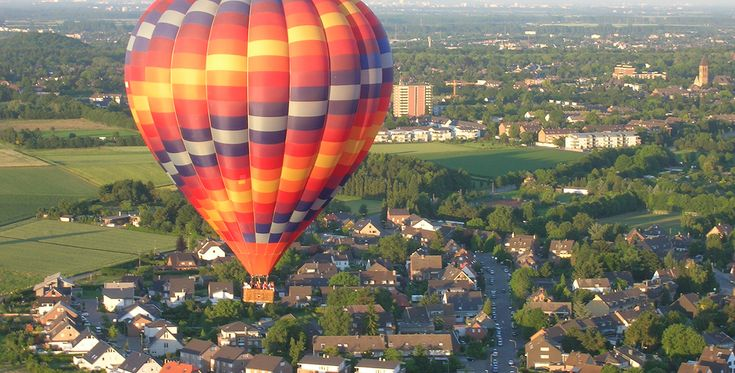 Ballonfahren in Bietigheim-Bissingen #Himmel #Ballonfahrt #Geschenk