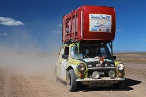 A race which doesn't guarantee your safety and wants you to break down in the name of fun? This is the Mongol Rally - the world's scariest endurance race.