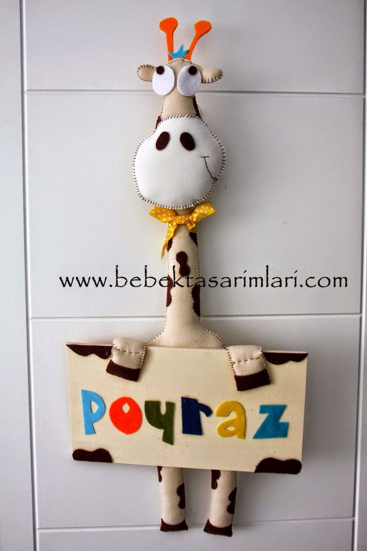 Bebek Odası Kapı süsü Poyraz Bebek Tasarımları, www.bebektasarimlari.com.tr