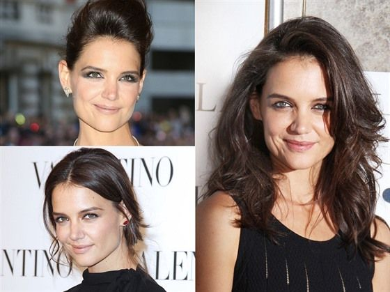How to create Katie Holmes' 3 iconic hairstyles. Exclusive hair tutorial with her hairstylist Michael Shaun Corby