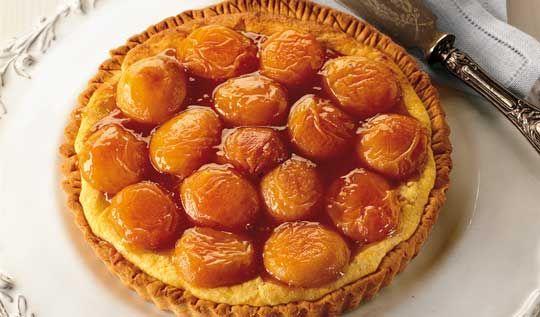 Ricotta Tart with Apricots
