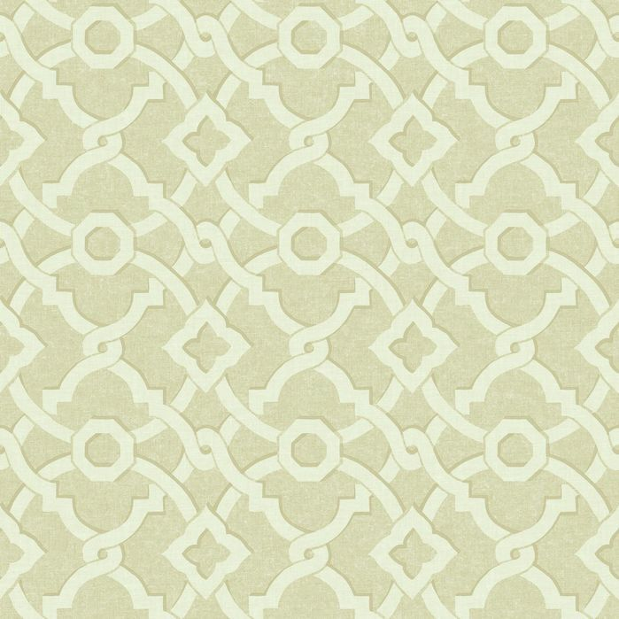 "Waverly Global Chic 33' x 20.5"" Geometric Wallpaper"