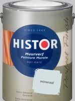 Histor Perfect Finish Muurverf Mineraal (6908) MAT - 5000 ml