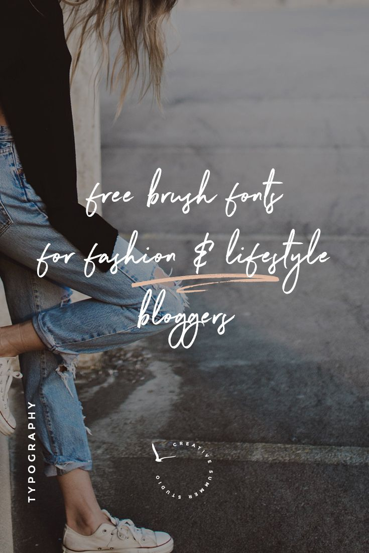Are you a fashion or lifestyle blogger? Then you definitely should style your blog and social media feed for the new season. Take a look at this awesome collection of 8 FREE brush fonts for fashion & lifestyle blogs and pick your favorite. If you want to have the most stylish blog out there, these fonts are the perfect choice for you and your blog!