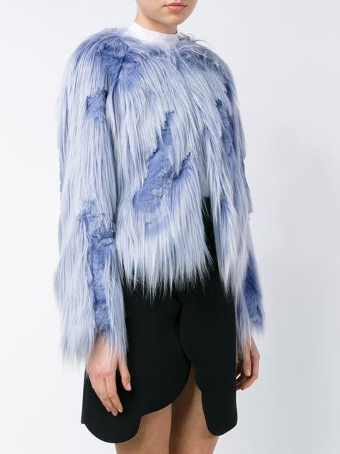 Filles A Papa shaved faux fur coat