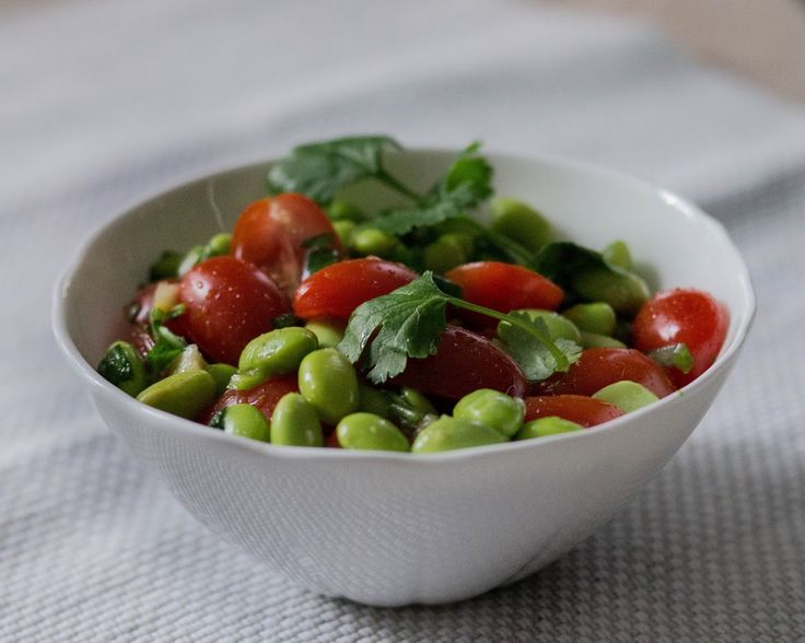 Soya beans with Moddle East flavour