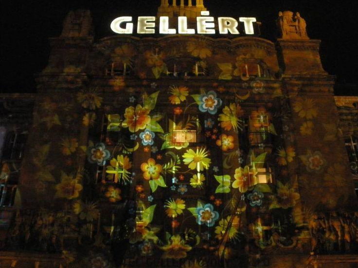 Ha november, akkor Márton napi #libalakoma és Danubius Hotel Gellért #Borfesztivál - #NightProjection #fényfestés