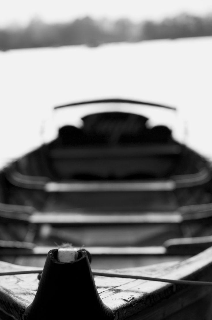 Rowing boat at Waterhead Ambleside
