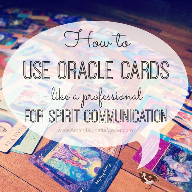 I am always looking for spiritual inspiration and advice! This is why I use oracle cards as a divination tool to connect to my Spirit Guides and Guardian Angel. Not afraid of intuitive living and a little DIY spiritual advice? Oracle cards can help you -