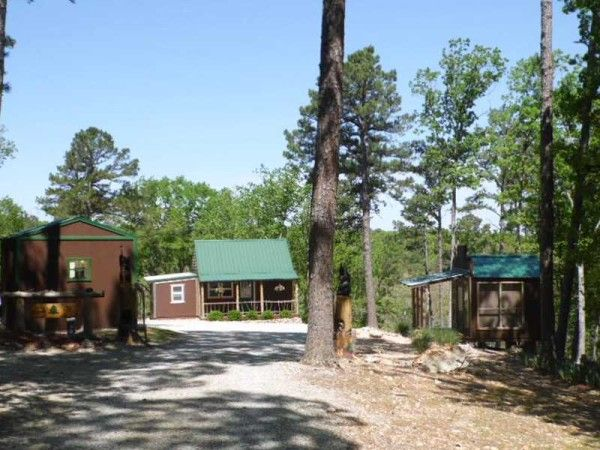 tiny home on homestead near eureka springs ak for sale 003 600x450   416 Sq. Ft. Whimsical Tiny Home on 2.79 Acres for Sale