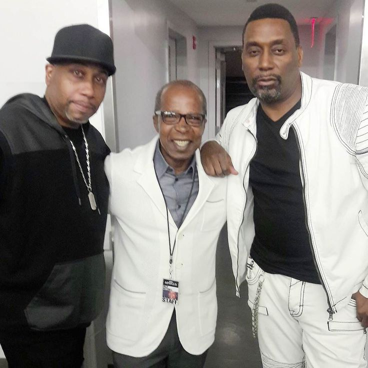 #apollotheater Billy is hanging out with Rob Bass and Big Daddy Kane at the Apollo. Filming Showtime at the Apollo.