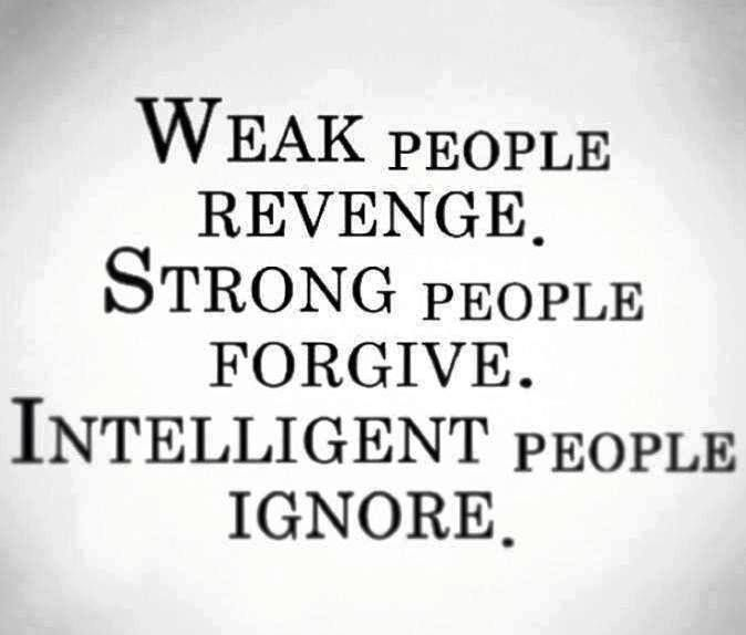 I hold no hate towards anyone but some people aren't overly nice and kind so all you can do is ignore them/unfriend them try to remove them from your life as much as possible...some people will apparently never move on in life, they are too obsessed with the past...