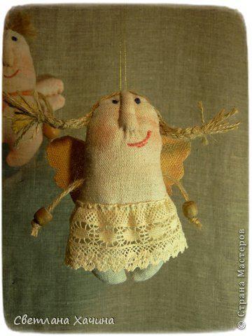 Куклы Шитьё Эльфики-примитивы Ткань фото 6