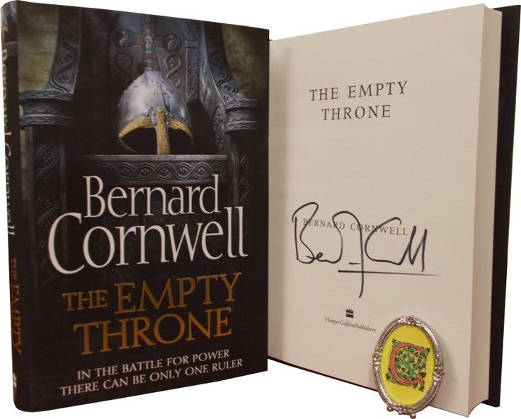 The Empty Throne - The Warrior Chronicles 8 by Bernard Cornwell