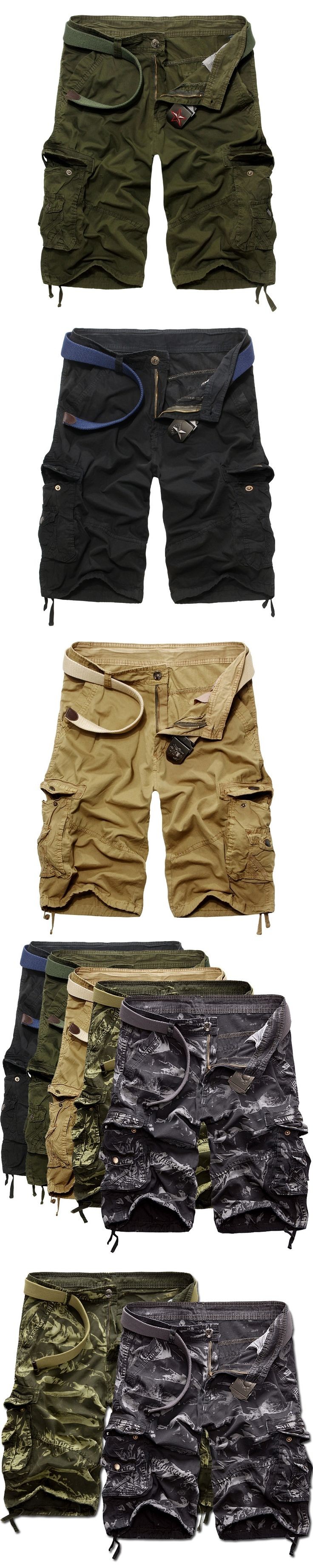 Mens Cargo Shorts 2017 Brand New Army Camouflage Shorts Men Cotton Pantalon Corto Hombre Casual Camo Shorts Bermudas Plus Size