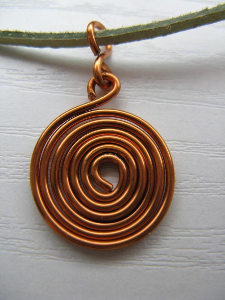 náhrdelník - spirála 1