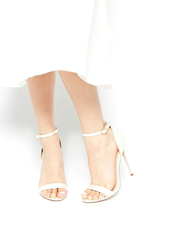 ASOS HOST Heeled Sandals - Ivory AU 7.5 Brand NEW FAST & FREE Shipping*