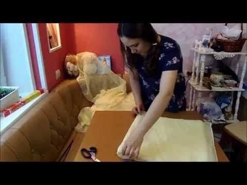хвостики из ткани для свадебного декора - YouTube — Яндекс.Видео