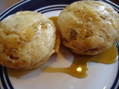 Pancake & sausage muffins from Heavenly Homemaker