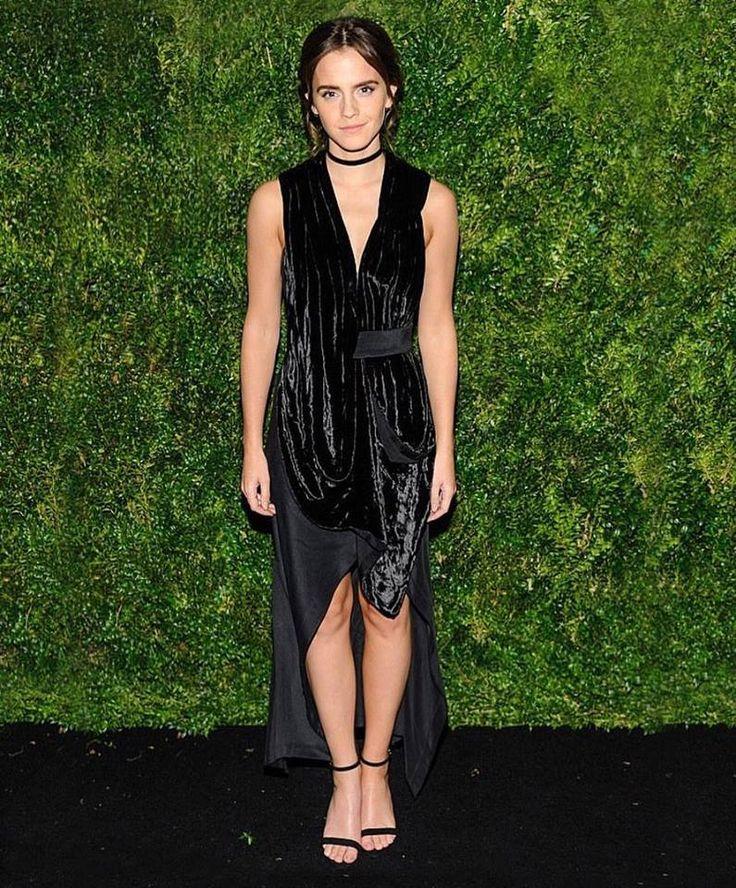 Emma Watson wearing Hey Simone vegan heels