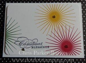 Christmas Card using #KindaEclectic stamp set. Dot Dot Stamping Designs   Chris Parker-Barnes – Independent Stampin' Up!® Demonstrator – Cooma, New South Wales, Australia www.dotdotstamping.com