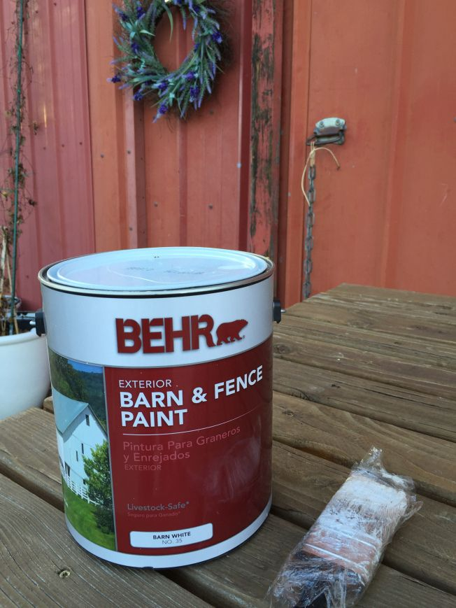 222 best country girl projects images on pinterest city for Behr barn and fence paint