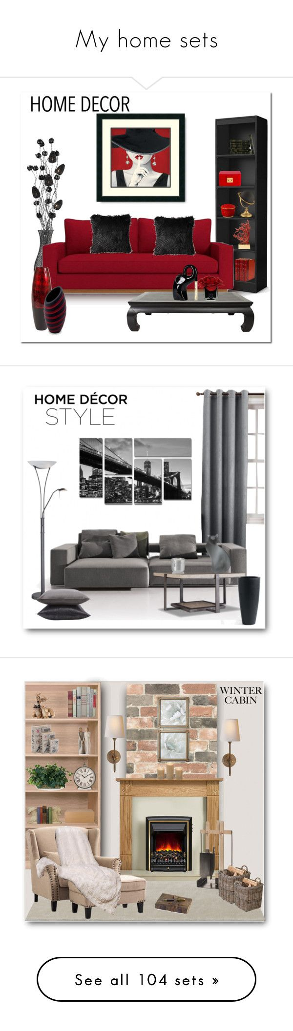 My home sets by bliznec on Polyvore featuring polyvore, interior, interiors, interior design, home, home decor, interior decorating, Dimond, Hervé Gambs, GREEN, NOVICA, L'Objet, Miu Miu, homedesign, Sun Zero, B&B Italia, Hooker Furniture, Trademark Fine Art, Lite Source, Jayson Home, Tom Dixon, Daum, Brewster Home Fashions, Iris Hantverk, Home Decorators Collection, Visual Comfort, Arte & Cuoio, Nearly Natural, Garden Trading, WALL, Threshold, Pottery Barn, Zodax, Catherine Malandrino…