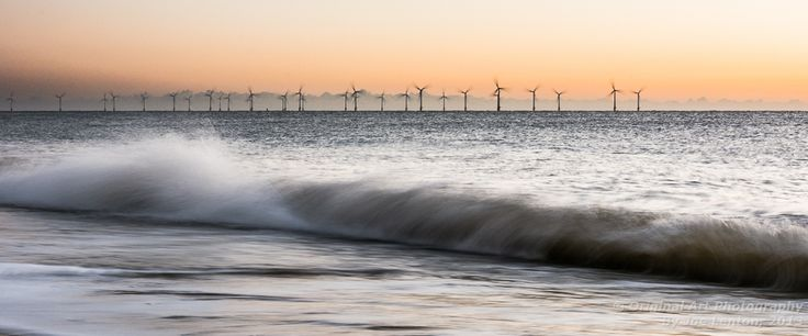 This sunrise shot was taken yesterday in the Norfolk coastal town of Great Yarmouth. This seascape attempts to capture something of the movement and energy as well as the light of dawn.