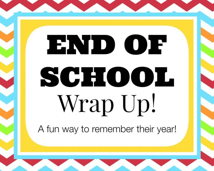 End of School Wrap Up... a Questionnaire to Remember Their Year! (she: Veronica)