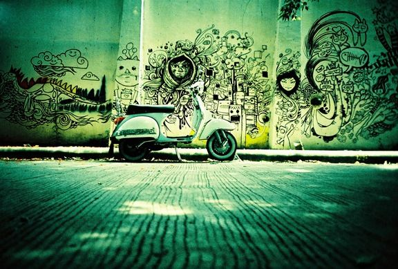 At the Street // Lomography