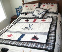 Canada Hockey Quilt