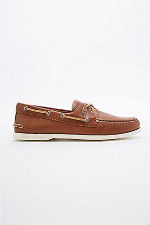 Sperry - Chaussures bateau en cuir marron