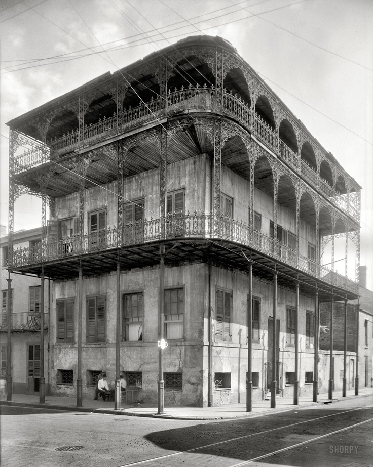 French Quarter, Le Pretre Mansion: New Orleans, Historical Photos, Built In, Dauphin Street, 716 Dauphin, Pretr Mansions, French Quarter, Benjamin Johnston, France Benjamin