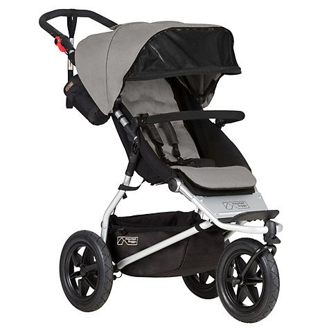 Buy Mountain Buggy Urban Jungle Pushchair, Silver Online at johnlewis.com