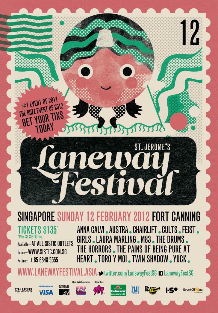 chairlift band posters | Chairlift, The Drums, Cults............ in Laneway Festival 2012 Singapore Lineup