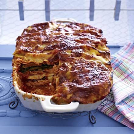 Lachs-Mangold-Lasagne Rezept   LECKER