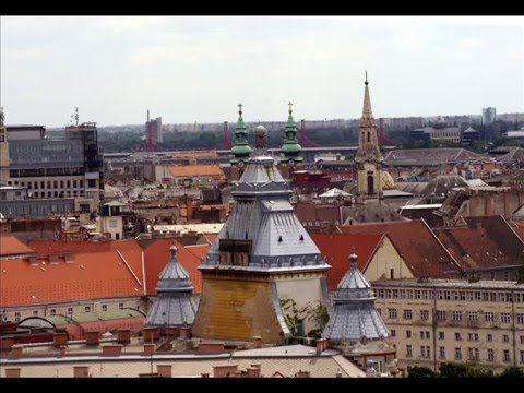 Fotos de: Hungria - Budapest - Vista de Budapest desde la Basilica de Sa...