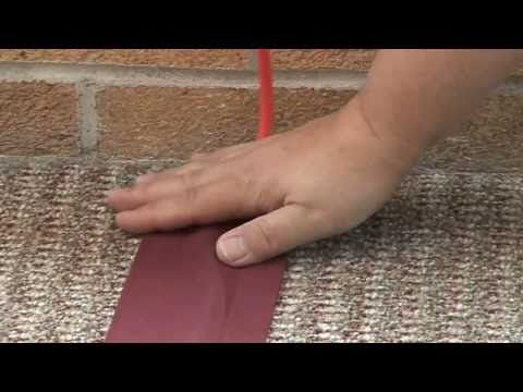 Make Your Own Electrical Cord Covers - Fabric Cord Covers for the floor to cover cords on carpet to prevent tripping (good idea for safety and if no other outlet is available)