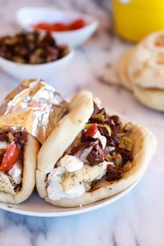 Saucy Chicken Gyros