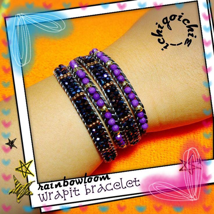 Splendid Wrapit Loom Bracelets by スロー メル. #WrapitLoom #WrapitLoomBracelet