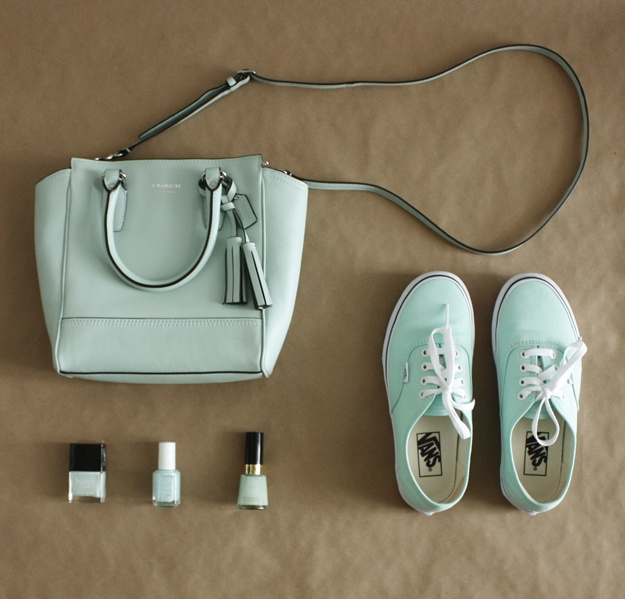 minted shoes pocketbook nail color Aline Happy Mother's Day!  Mom would love this?, Aline