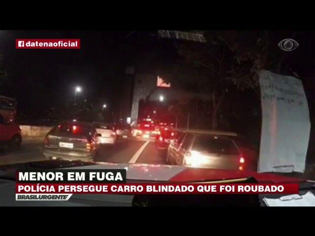 SP: Menor em fuga é perseguido por policiais
