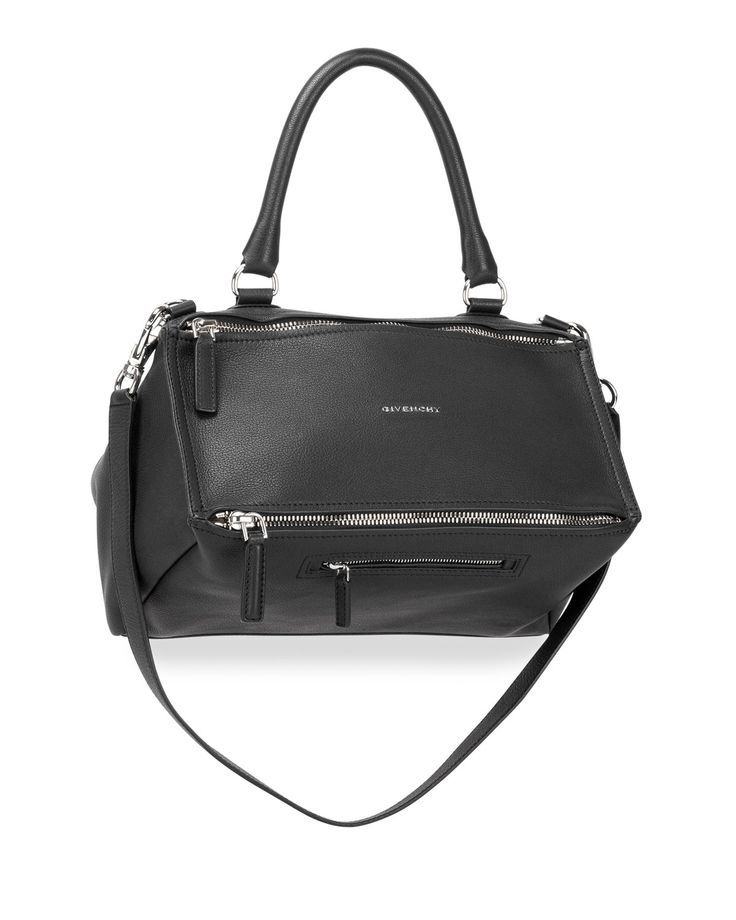chloe elsie small shoulder bag - Givenchy Pandora Medium Sugar Satchel Bag, Black | Satchel Bag ...