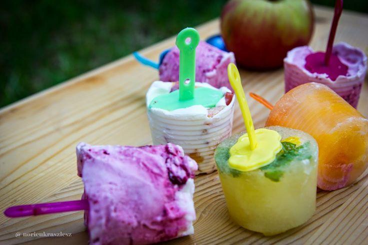 Nóri cukrász lesz házi jégkrém