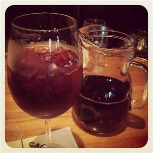 I had this last week Soooo good! This just might be our signature drink. Carrabba's Italian Grill Copycat Recipes: Blackberry Sangria