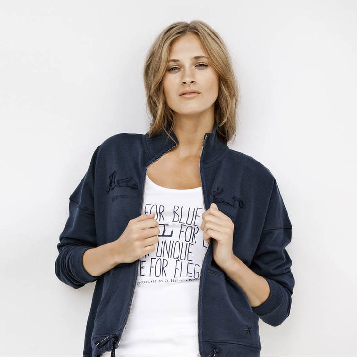 Bonnie Jacket from Blue