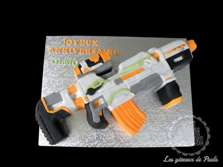 Nerf Modulus Cake